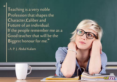 45 Famous Quotes On Teachers Edsys