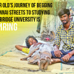 22 Year Old's Journey of Begging On Chennai Streets to Studying At Cambridge University Is Inspiring
