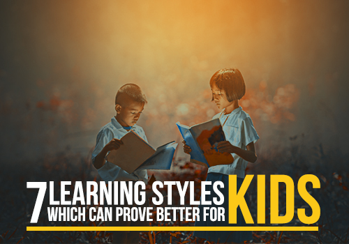 Learning styles which can prove better for kids featured image