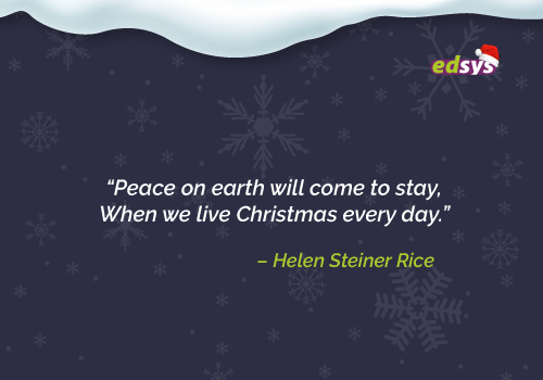 75 Best Christmas Quotes for this Festive Season | Edsys