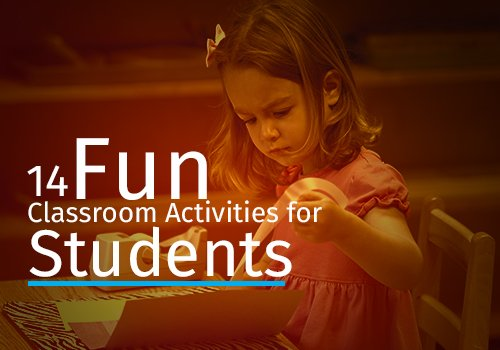 fun classroom activities