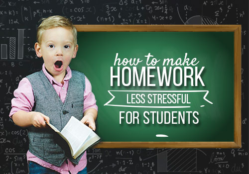 How To Make Homework Less Stressful For Students