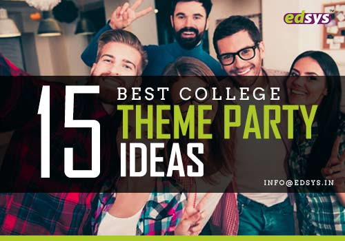 College Theme Party Ideas