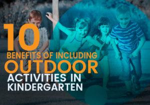 outdoor activities in kindergarten featured image