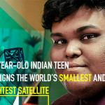 18-Year-Old Indian Teen Designs the World's Smallest and Lightest Satellite