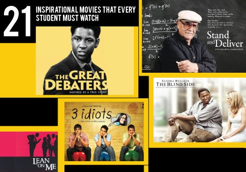 21 Inspirational Hollywood & Bollywood Movies for School and College Students