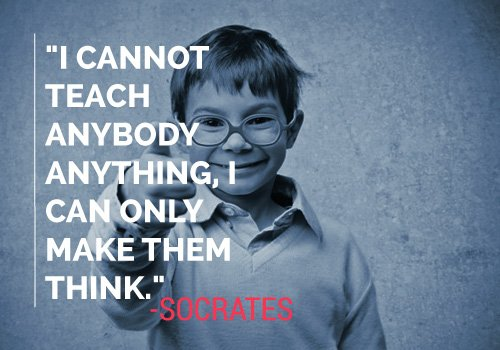 Socrates Quote on Teaching
