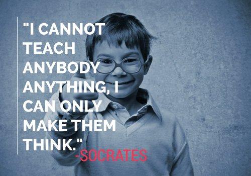 Socrates Quote on Teaching