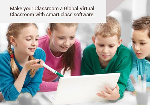 Make your Classroom a Global Virtual Classroom with smart class software