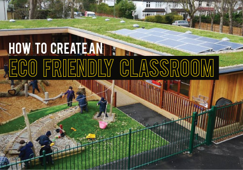 How to Create an Eco Friendly Classroom