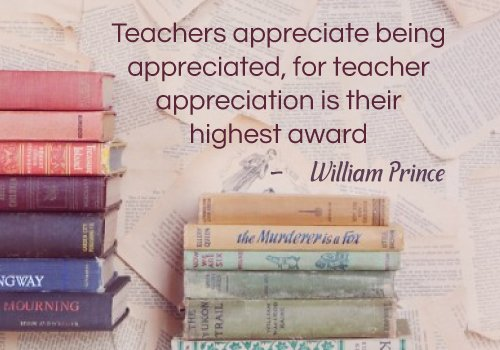 William Prince Teacher Quotes