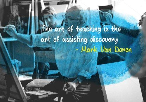 Mark Van Doren Teaching Quotes