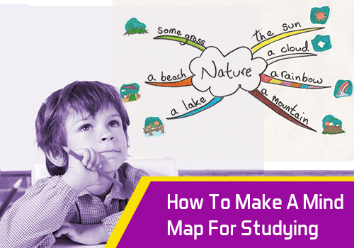 How to Make a Mind Map for Studying - Edsys Make Mind Map on make up mind, make world map, make word map,