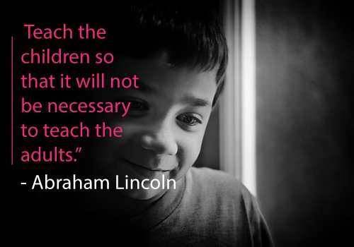 Abraham Lincoln Teacher Quotes