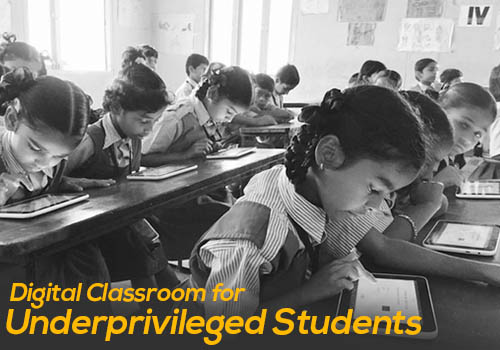 Digital Classroom for the Underprivileged Students in Refugee Camp