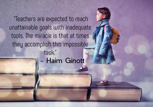 Teacher Quotes - Impossible miracles