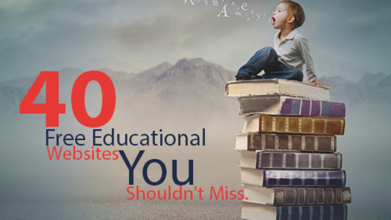 40 Free Educational Websites You Shouldn T Miss Edsys