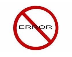 Error Management