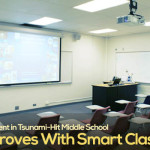 Enrolment in Tsunami-Hit Middle School Improves With Smart Classes
