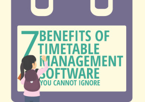7 Benefits of Timetable Management Software You Cannot Ignore [Infographics]