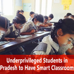 Underprivileged Students in Uttar Pradesh to Have Smart Classrooms Soon