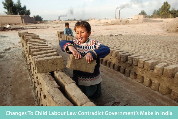 Child Labour Law Changes Contradicts Government's Make in India, Digital India and Smart Cities Mission