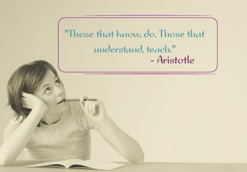 Aristotle Quote on Teaching