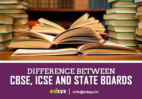 CBSE ICSE and State Boards