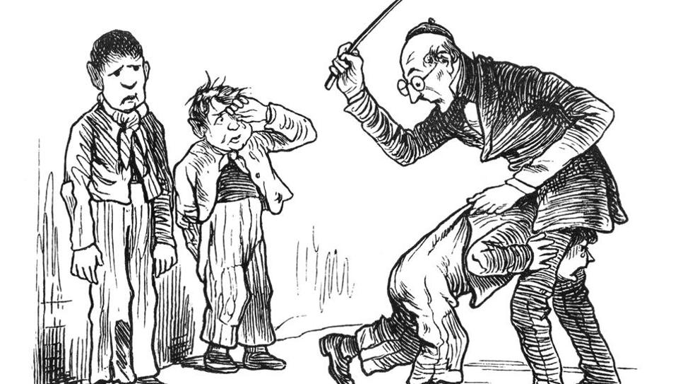 Corporal Punishment in a School
