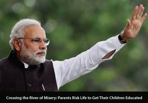 Crossing the River of Misery: Parents Risk Life to Get Their Children Educated