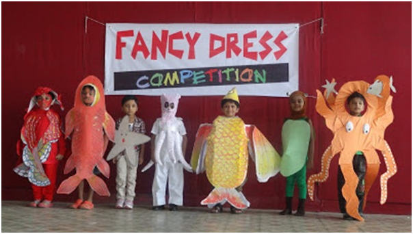 Fancy dress competitions