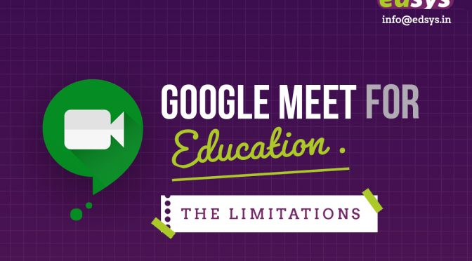 Google Meet for Education: The Limitations
