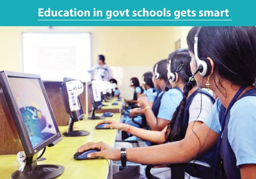 Government Schools Gets Smart Education