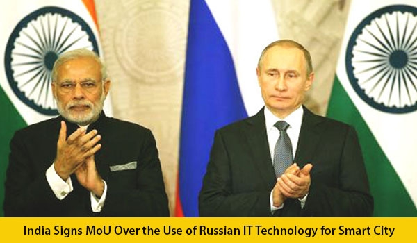 India Signs MoU Over the Use of Russian IT Technology for Smart City