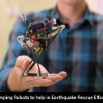 Jumping Robots to help in Earthquake Rescue Efforts