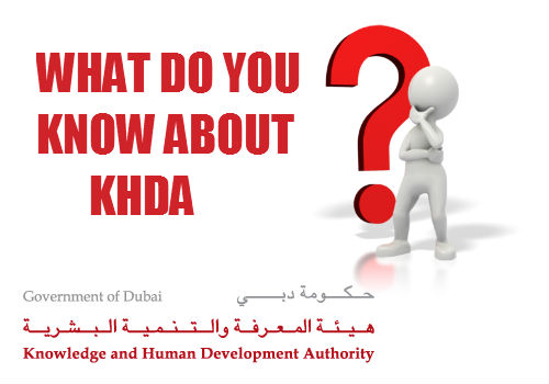 KHDA-Knowledge and Human Development Authority