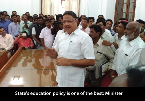 Karnataka's Education Policy is One of the Best, Says Minister