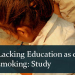 Lacking Education as Deadly as Smoking: Study