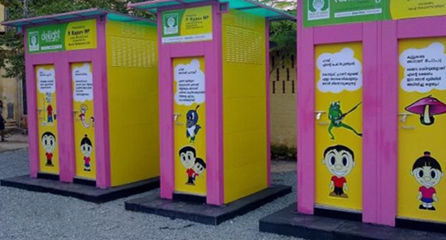 Nellore to Get Highest Number of School eToilets in India