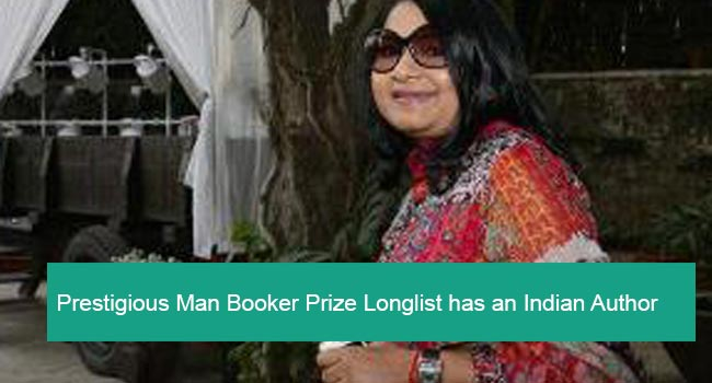 Prestigious Man Booker Prize has an Indian Author in the List