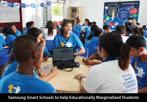 Samsung Smart Schools to help Educationally Marginalized Students