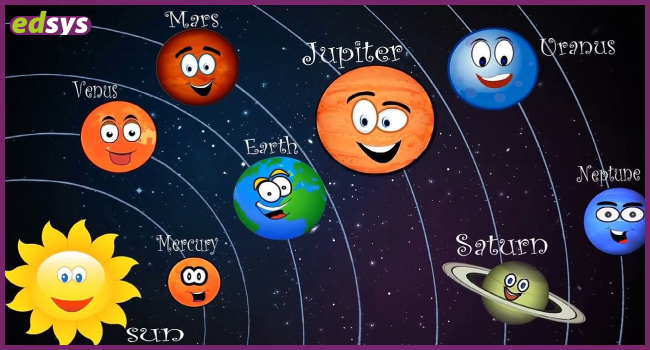 Solar System Images for Kids (Free Solar System Printables)