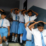 Students Asked to Vacate School Buildings As Delhi Shook