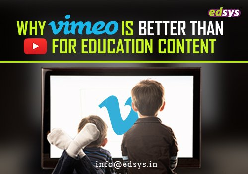 Why Vimeo is Better than YouTube for Education Content