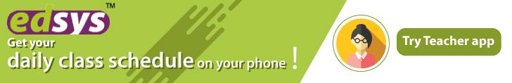 Teacher app ad banner