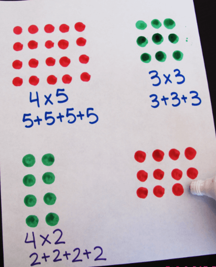 free multiplication chart
