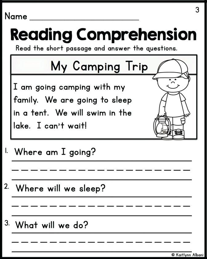 reading-comprehension-worksheets-for-kids-reading ...